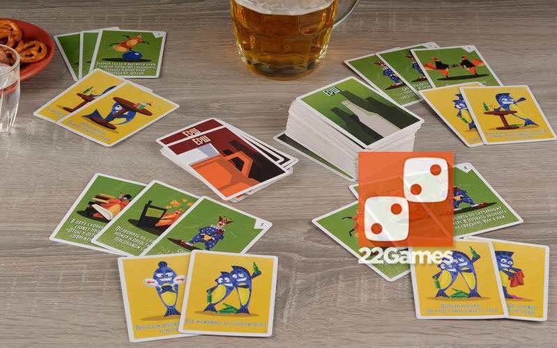 Алкогольная игра «Ёрш»