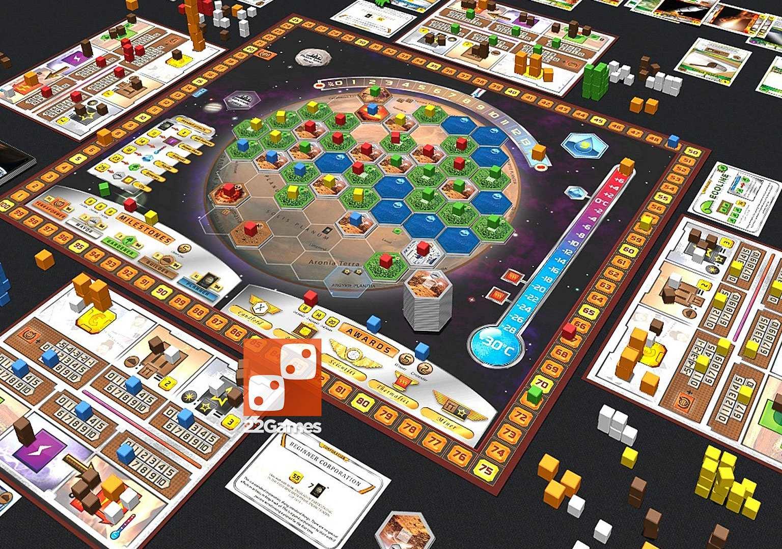 Покорение Марса (Terraforming Mars)