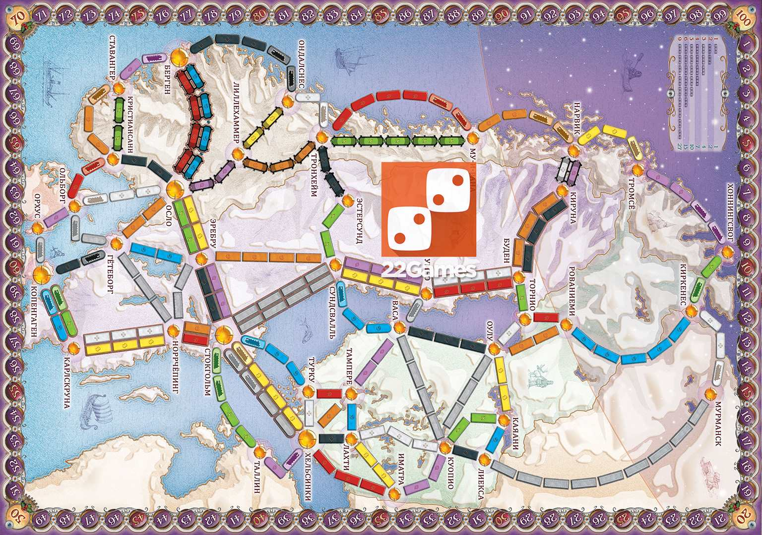 Ticket to Ride: Северные страны