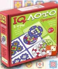 IQ Лото. Орнаменты