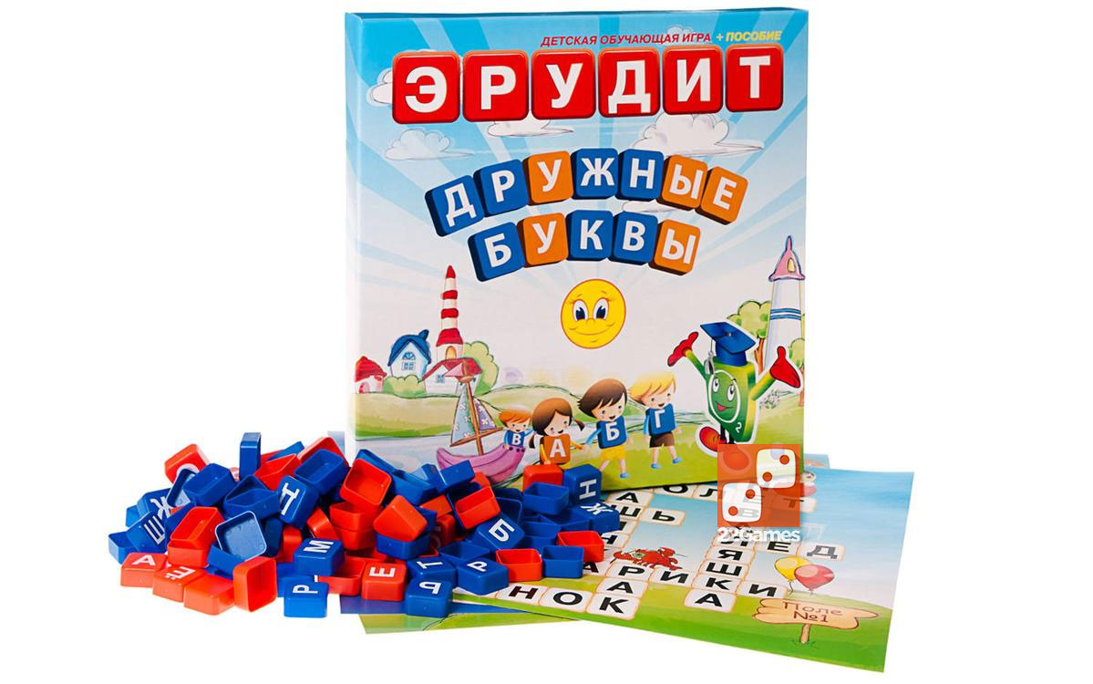 Эрудит для малышей: Дружные буквы