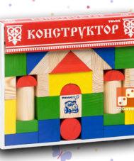 Цветной конструктор «Томик» (65 деталей)