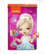 Магнитный пазл «Куклы 2»