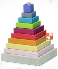 Деревянная Пирамидка Cubika LD-5