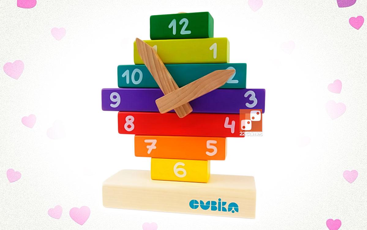 Деревянный конструктор «Часы»