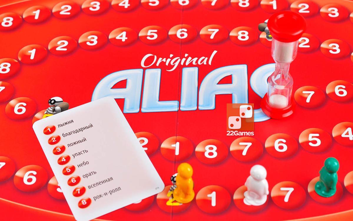 Алиас (Скажи иначе). Alias