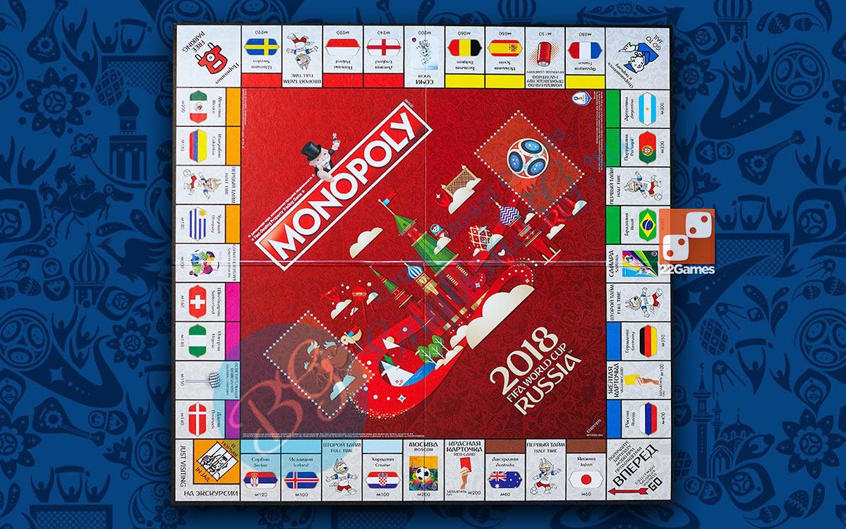 Монополия FIFA 2018