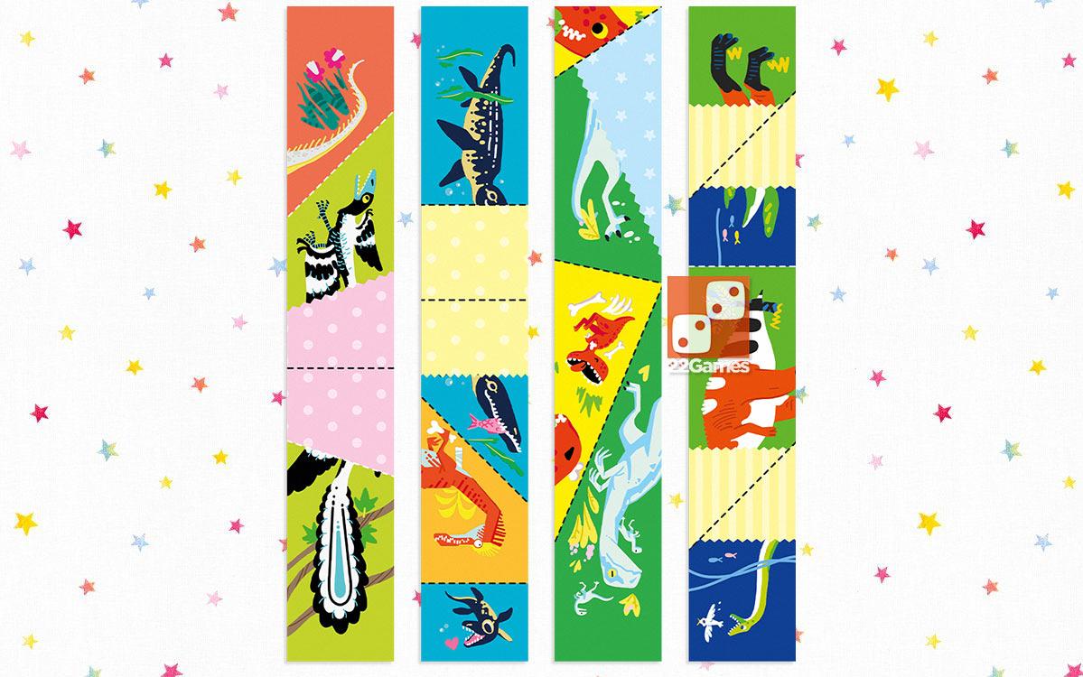 Сгибалки «Динозавры», 8-9 лет