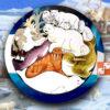 Деревянный Зоопазл «Северный полюс»