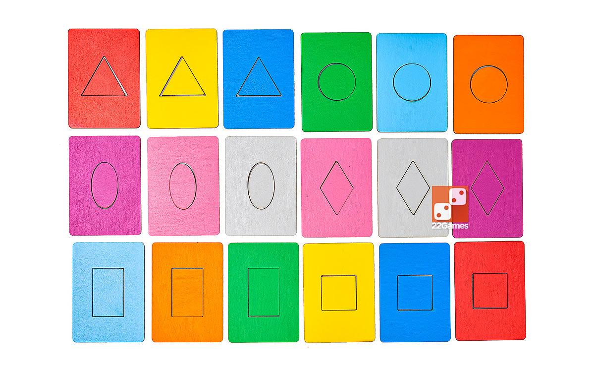 Досочки Сегена разноцветные
