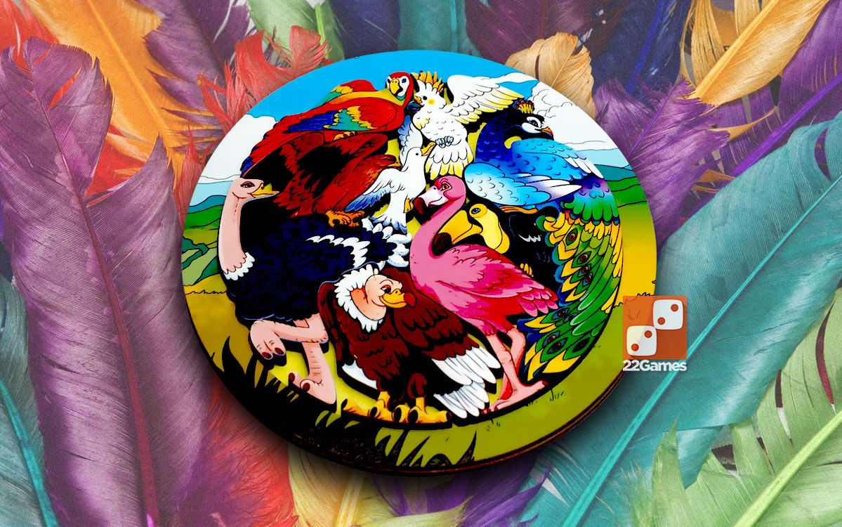 Деревянный Зоопазл «Экзотические птицы»