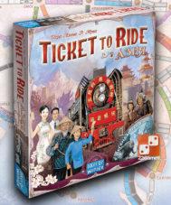 Ticket to Ride: Азия (доп)