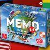 Мемо 2 в 1 «Мировые достпримечательности и флаги»
