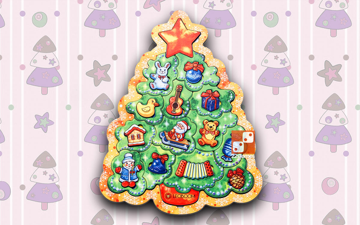 Пазл «Новогодняя елочка»