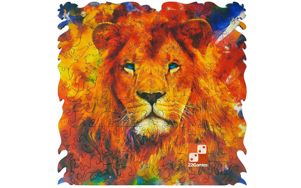 Фигурный пазл Animal Art «Лев» (112 дет.)